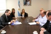 La SSN firmó convenio con la Asociación Argentina de Motovehículos