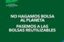 Organizaciones ambientales a favor de utilizar bolsas reutilizables
