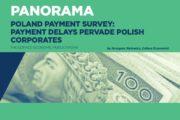 Los retrasos en los pagos afectan a casi todas las empresas polacas
