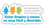 15 de octubre: Día Mundial del Lavado de Manos