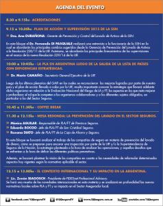 Agenda lavado 2015