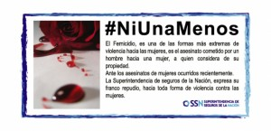 #NiUnaMenos SSN