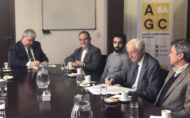 La Agencia Gubernamental de Control y la AACS firman importante convenio bilateral
