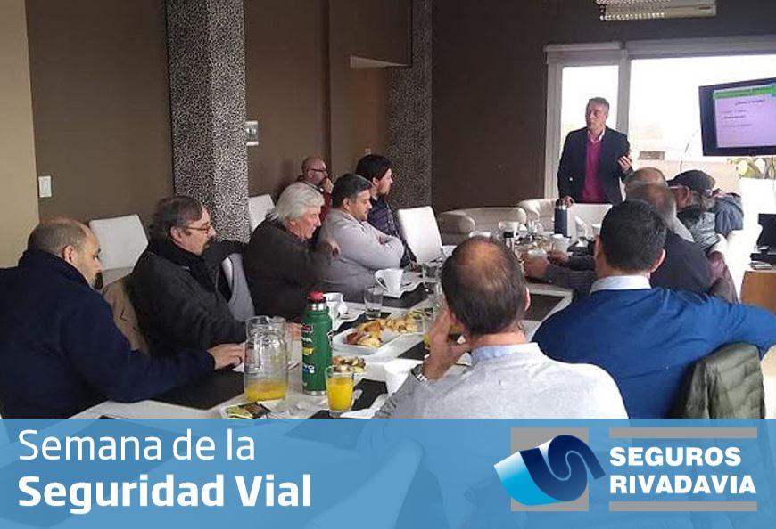 Seguros Rivadavia concretó acciones de Prevención durante la Semana de la Seguridad Vial