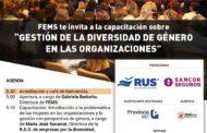 """FEMS organiza la capacitación: """"Gestión de la diversidad de género en las organizaciones"""""""