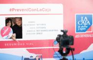 La Caja realizó su campaña #PreveníConLaCaja en el DOT